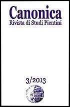 La copertina di Canonica 3