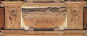 Il sarcofago di Pio II