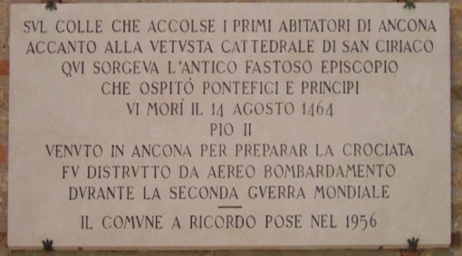 I banchetti papali nell'ultimo viaggio di Pio II